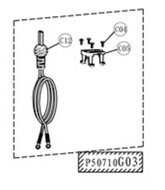 Battery cable - P50710G03